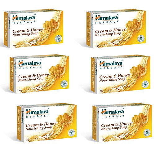 #10: Himalaya Herbals Honey and Cream Soap, 125g (Pack of 6)