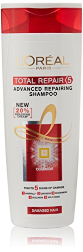 #5: L'Oreal Paris Total Repair 5 Advanced Repairing Shampoo, 360 ml